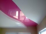 2-уровневый потолок глянцевый цветной из ПВХ