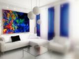 Флуоресцентные картины для интерьера